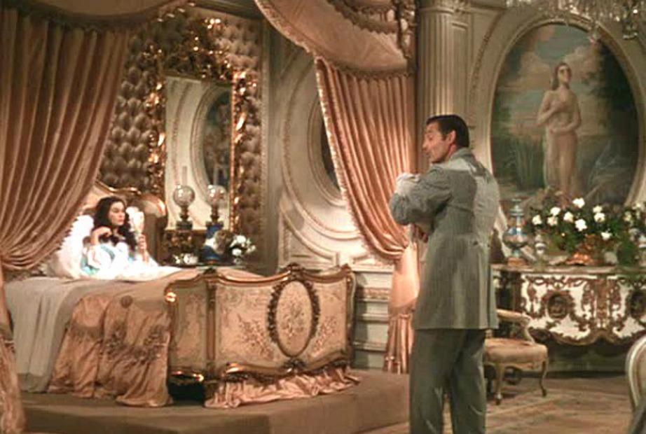Το πολυτελές δωμάτιο της Σκάρλετ στο «Όσα παίρνει ο άνεμος».