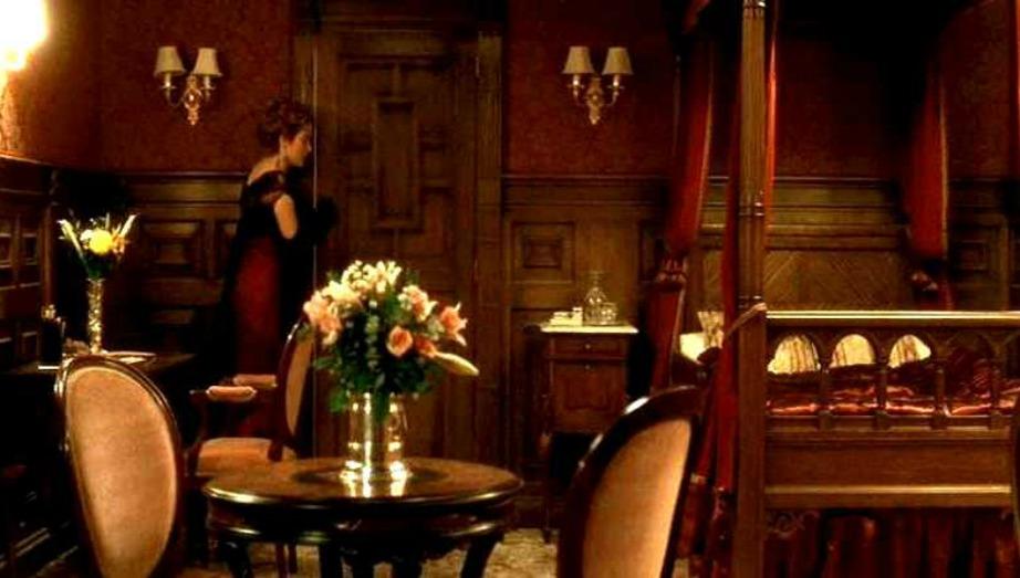 Το δωμάτιο της Rose στον Τιτανικό.