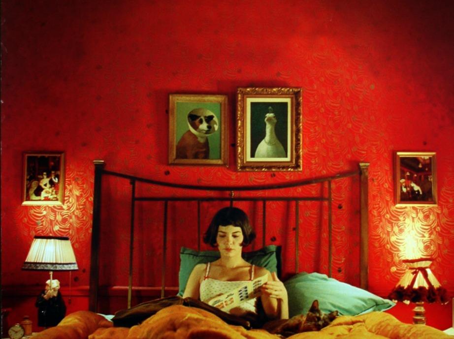 Το κατακόκκινο δωμάτιο της Amelie.