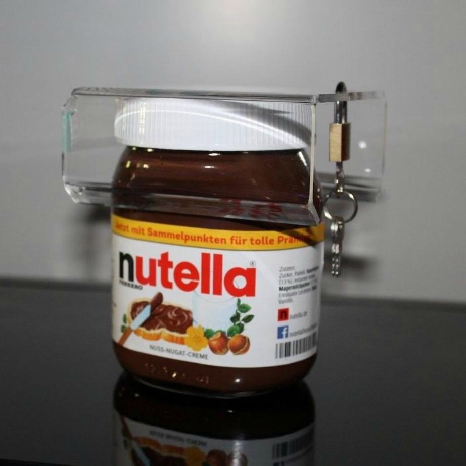 Μπορείτε στην κυριολεξία να κλειδώσετε τη nutella σας.