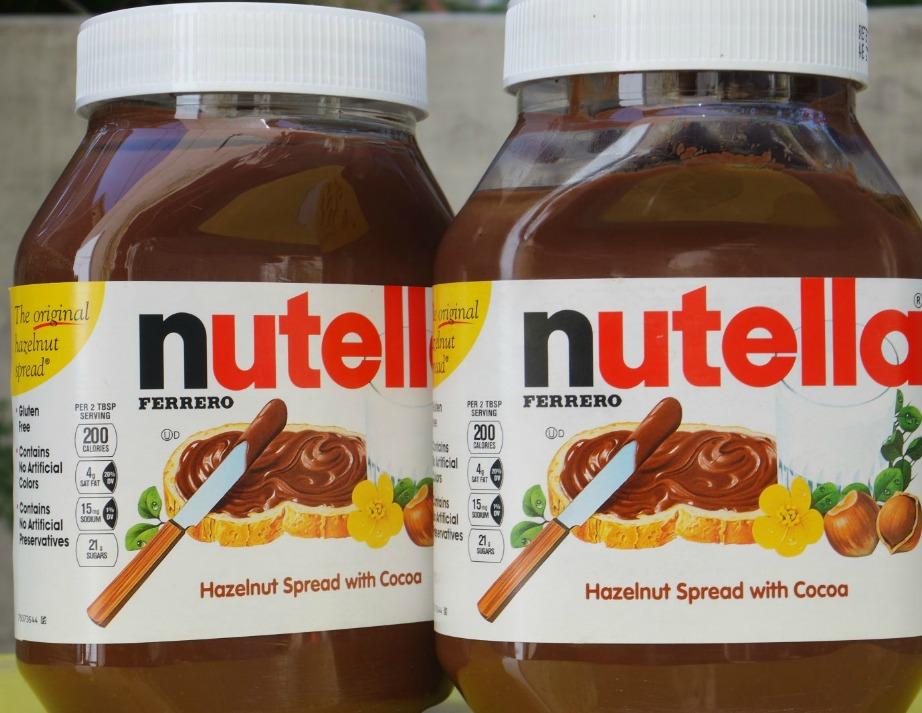 Το σχήμα του δοχείου είναι μια ακόμα καινοτομία της nutella.