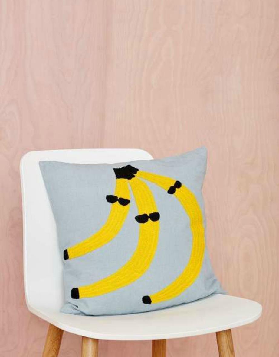 Επιλέξτε μαξιλάρια με ιδιαίτερα σχέδια.