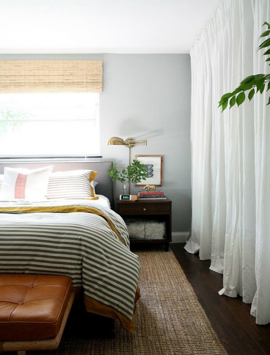 Οι κουρτίνες θα σας βοηθήσουν να βάλετε τη δική σας πινελιά στο ενοικιαζόμενο σπίτι σας.