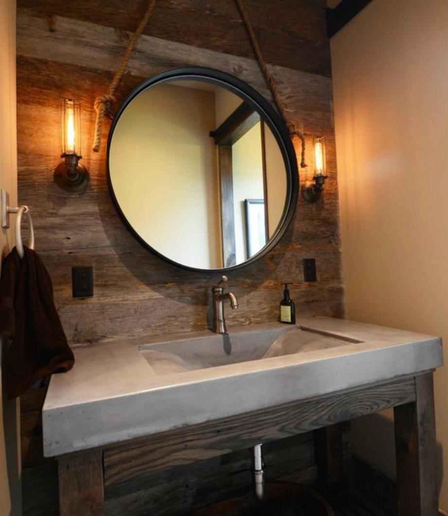 Βάλτε διακριτικό φωτισμό δίπλα σε έναν ωραίο καθρέφτη.
