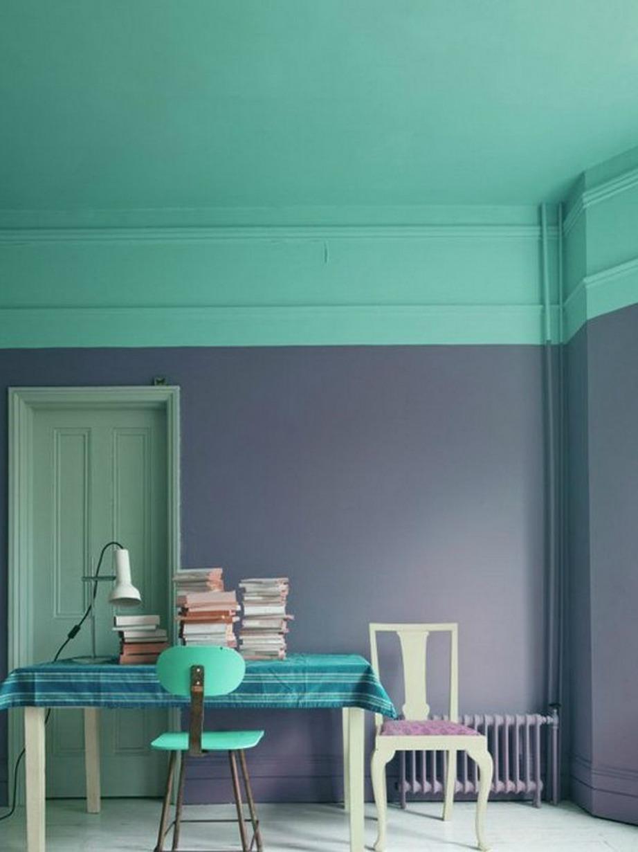 Επιλέξτε δύο αποχρώσεις που σας αρέσουν για να φτιάξετε αυτό το υπέροχο color blocking αποτέλεσμα.