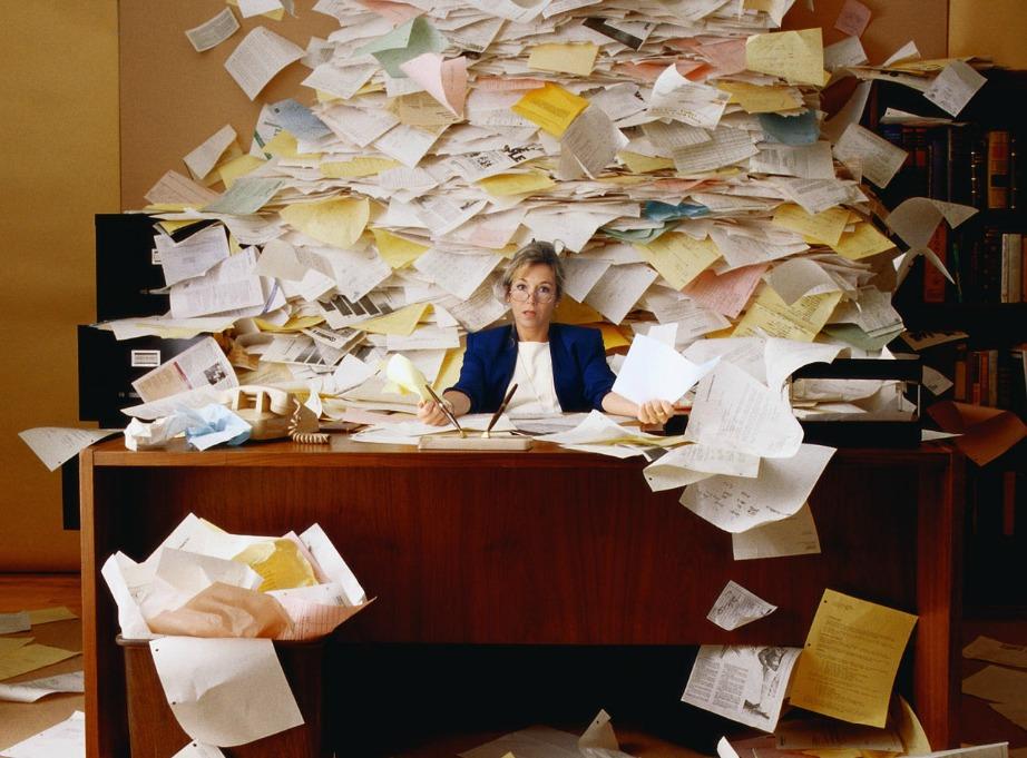 Το ακατάστατο εργασιακό περιβάλλον είναι πιο δημιουργικό σύμφωνα με τους ψυχολόγους του Πανεπιστημίου της Μινεσότα.