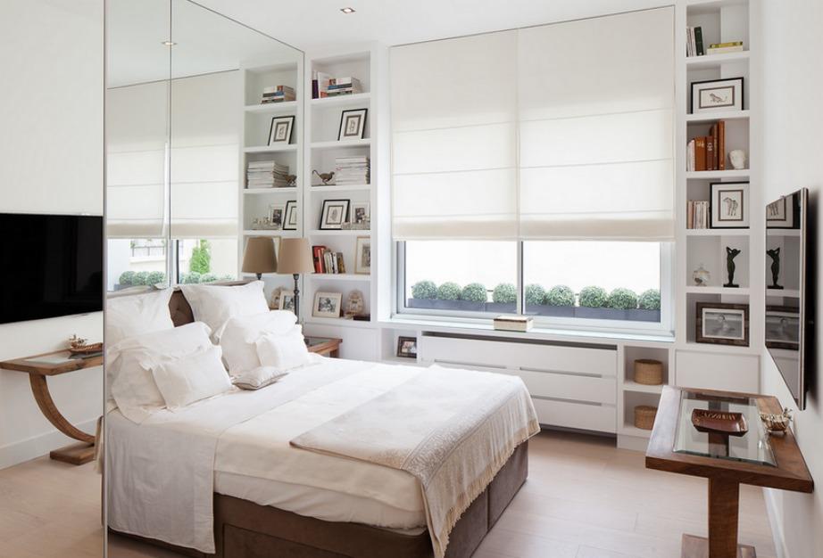 Αν τοποθετήσετε έξυπνα έναν καθρέφτη στον τοίχο του σπιτιού σας τότε αμέσως το δωμάτιο φαίνεται πιο μεγάλο.