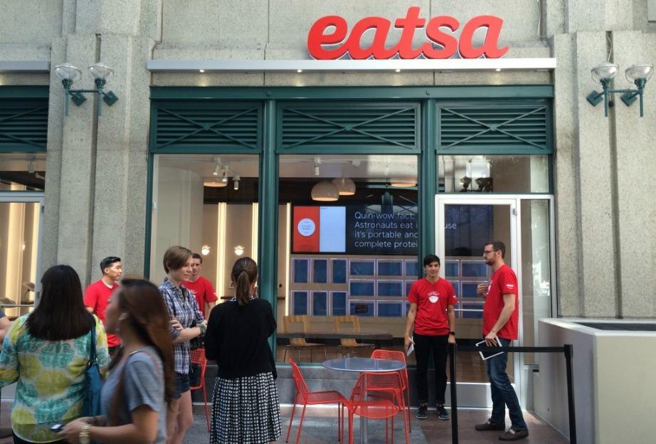 Αυτή τη στιγμή υπάρχουν δύο καταστήματα Εatsa αλλά σύντομα θα ανοίξουν ακόμα 10.