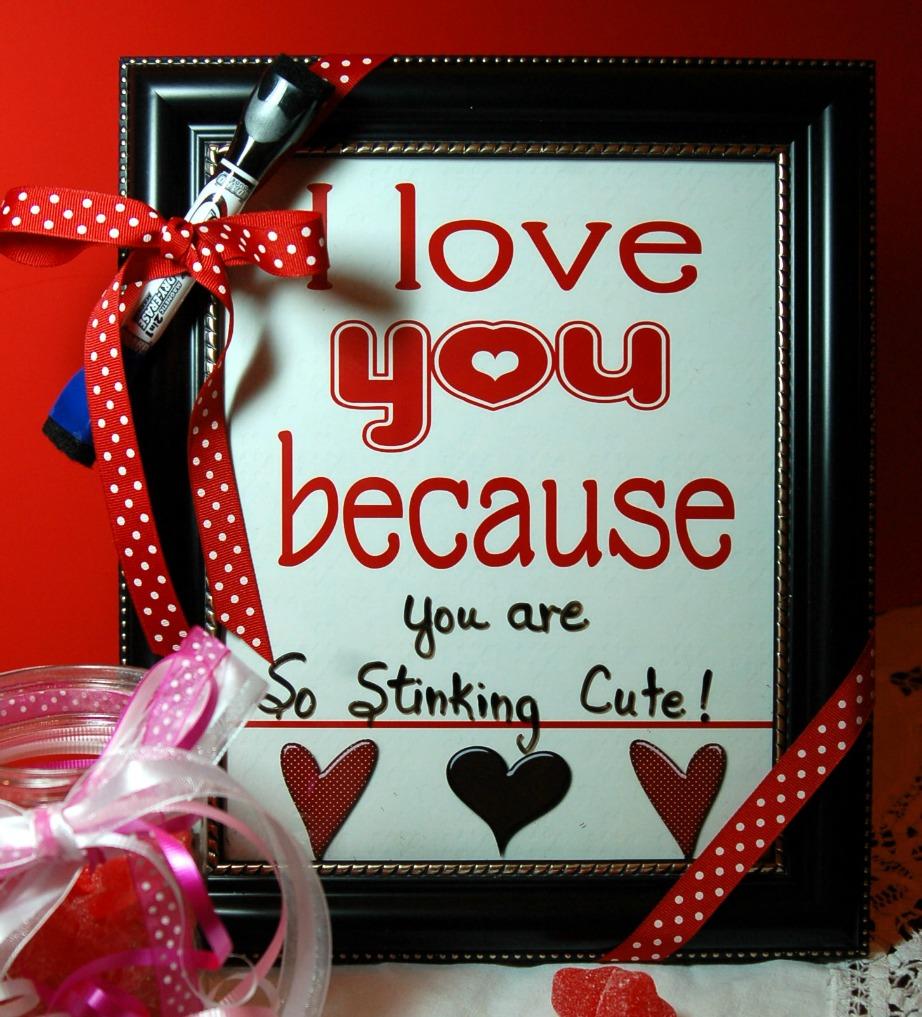 Φτιάξτε καδράκια με υπέροχα λόγια αγάπης.