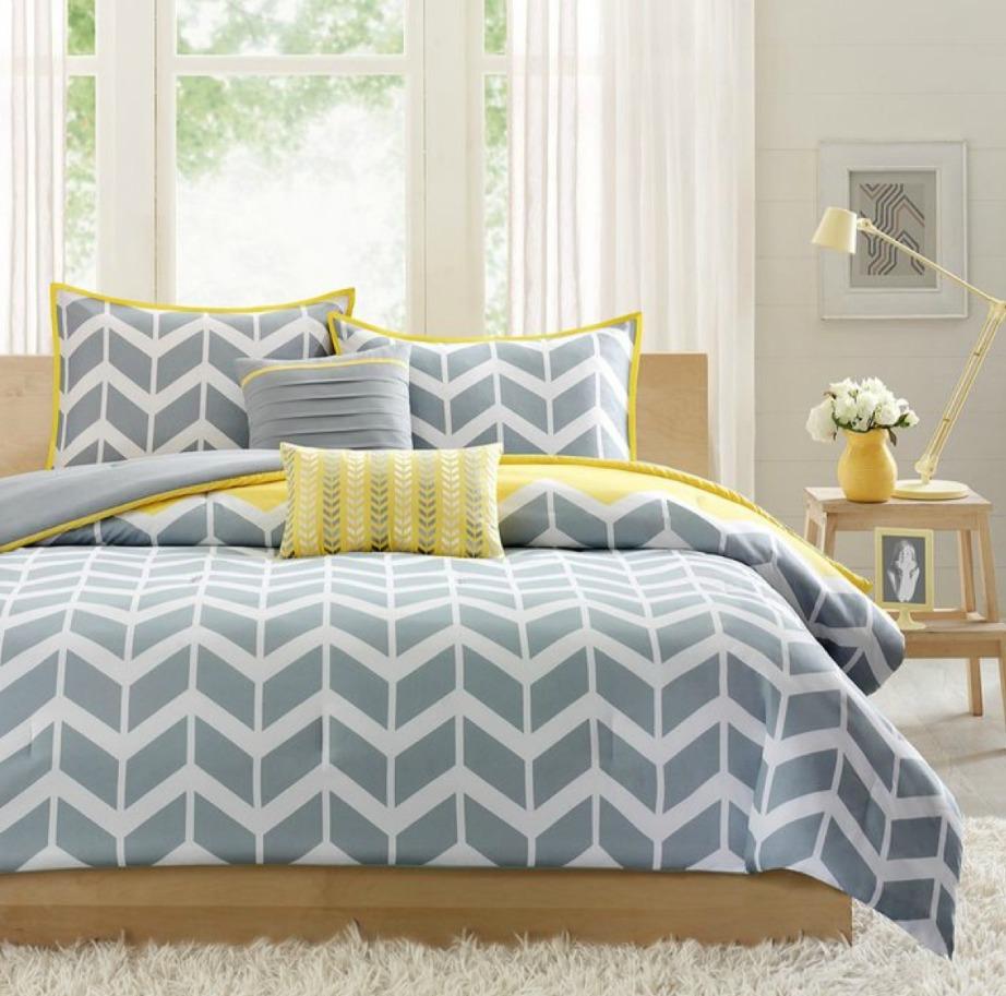 Το παλ γκρι είναι επίσης τέλειο στη διακόσμηση της κρεβατοκάμαρας αλλά και ιδανικό χρώμα για παιδικά δωμάτια.