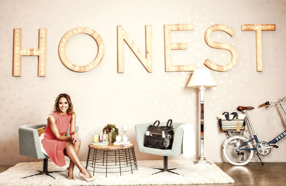 """Στα γραφεία της """"The Honest Co"""" στο Λος Άντζελες."""