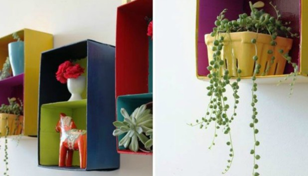 Φτιάξτε Απίστευτα Όμορφα Ράφια από ένα Περίεργο Υλικό!