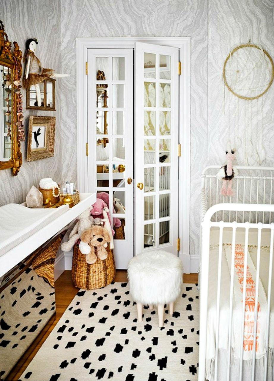 Τα καλάθια χαρίζουν στιλ και χώρο στο δωμάτιο του μικρού σας.