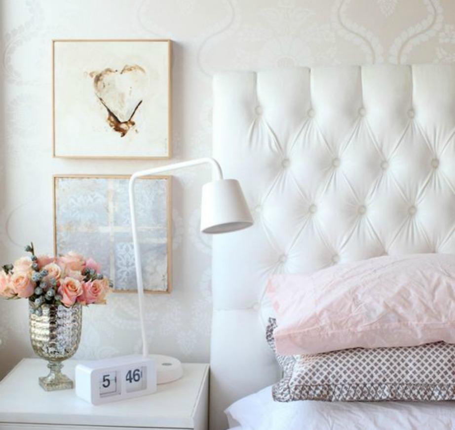 Μπορείτε να διακοσμήσετε το δωμάτιό σας επιλέγοντας μια μόνο παστέλ απόχρωση.