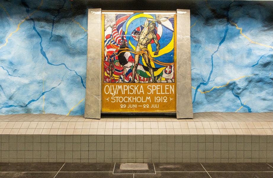 Ένα έργο φτιαγμένο για τους Ολυμπιακούς Αγώνες που διεξήχθησαν στην Στοκχόλμη το 1912.