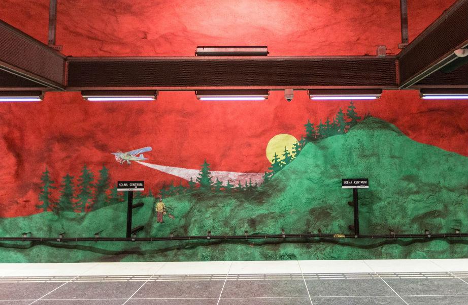 Αυτή η τοιχογραφία έχει έκταση 1.000 μέτρων!