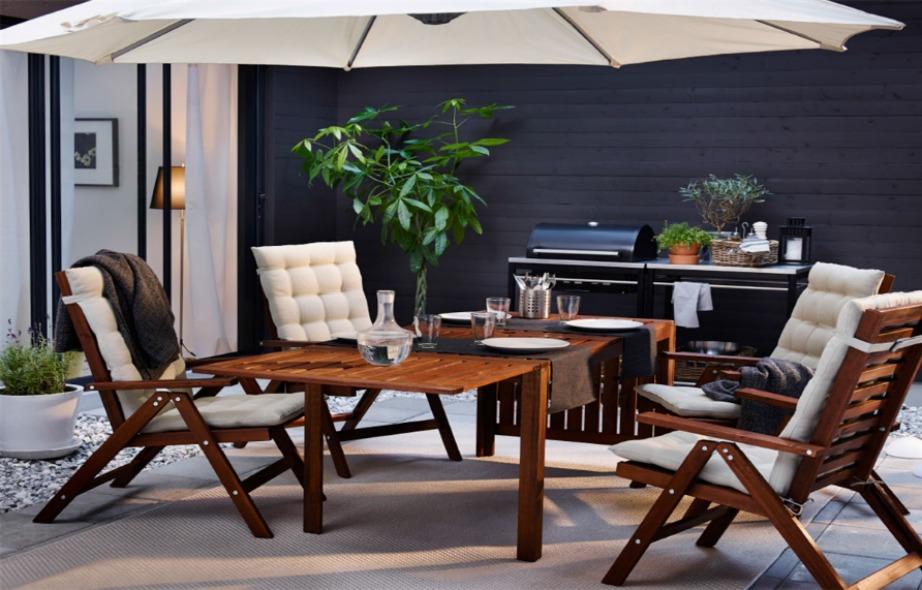 Η ομπρέλα αποτελεί μια από τις πιο οικονομικές λύσεις για σκίαση στο μπαλκόνι.