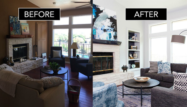 Πριν και Μετά: Δείτε πώς ένα Χειμωνιάτικο Σπίτι Μεταμορφώθηκε σε Ανοιξιάτικο Παράδεισο!