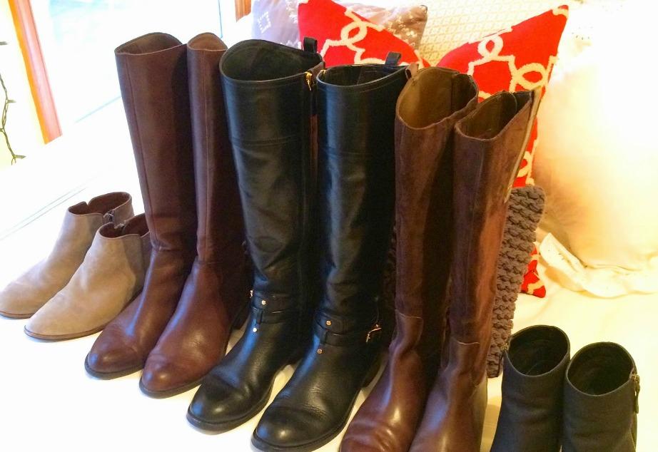 Πριν μαζέψετε για την άνοιξη τις μπότες σας θα πρέπει να τις έχετε πρώτα καθαρίσει.
