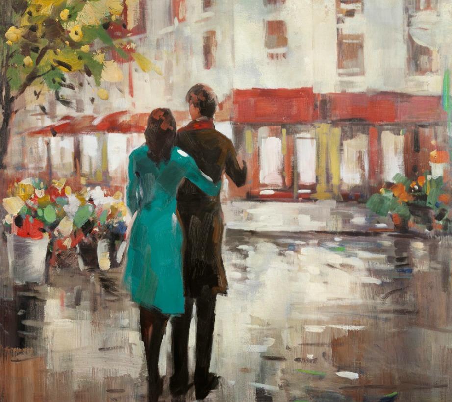 Αυτός ο πίνακας μπορεί να δείχνει ένα ζευγάρι αλλά το ζευγάρι είναι πλάτη προς εσάς και ο άνδρας δε φαίνεται ιδιαίτερα θερμός απέναντι στη γυναίκα. Οπότε σαν πίνακας δεν δημιουργεί καλό φενγκ σούι.