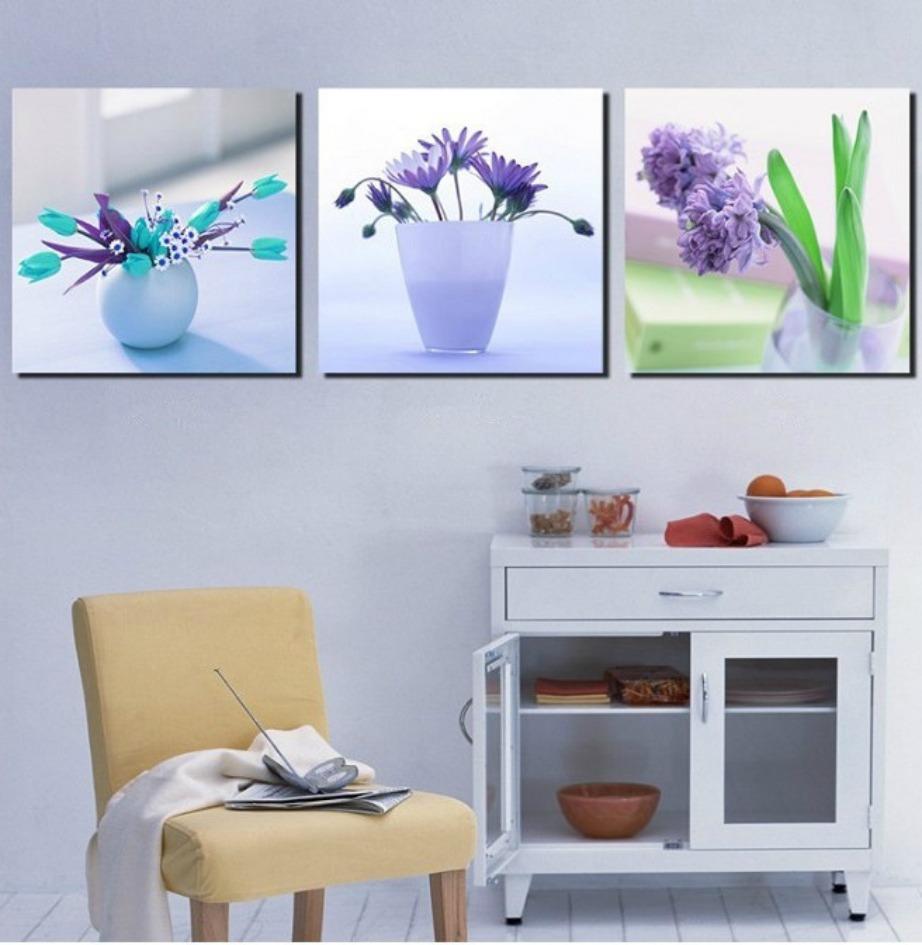 Διακοσμήστε με πίνακες με έμπνευση από τη φύση.