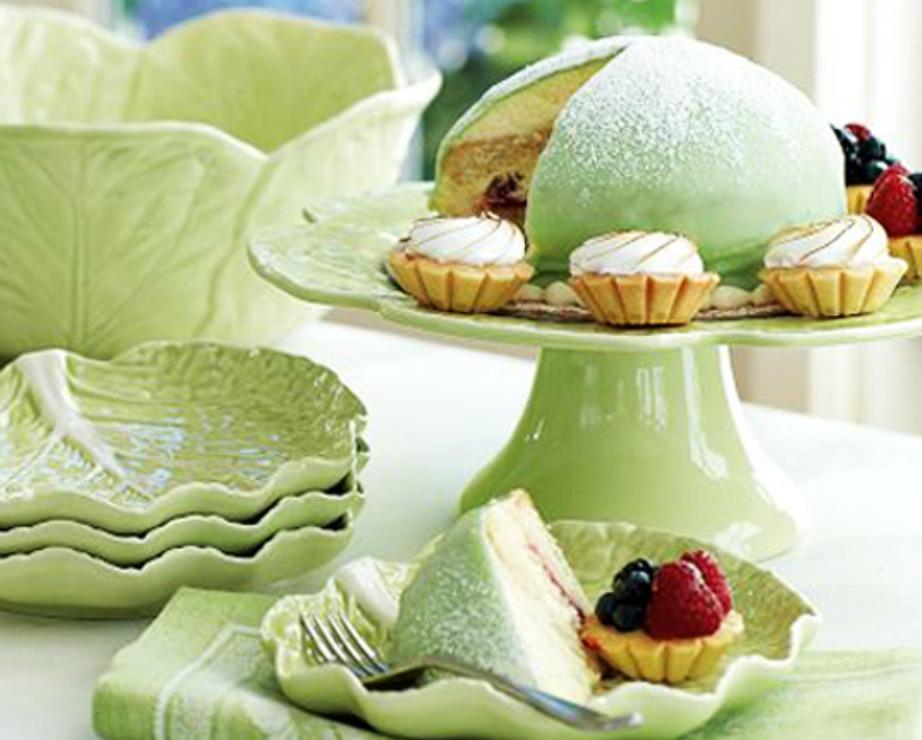 Υπέροχα πιατάκια γλυκού σε σχήμα φύλλων.