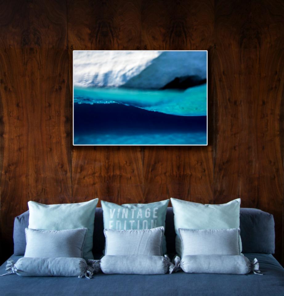 Η Μαρίνα Βερνίκου ονόμασε το φωτιστικό της Sea Through.