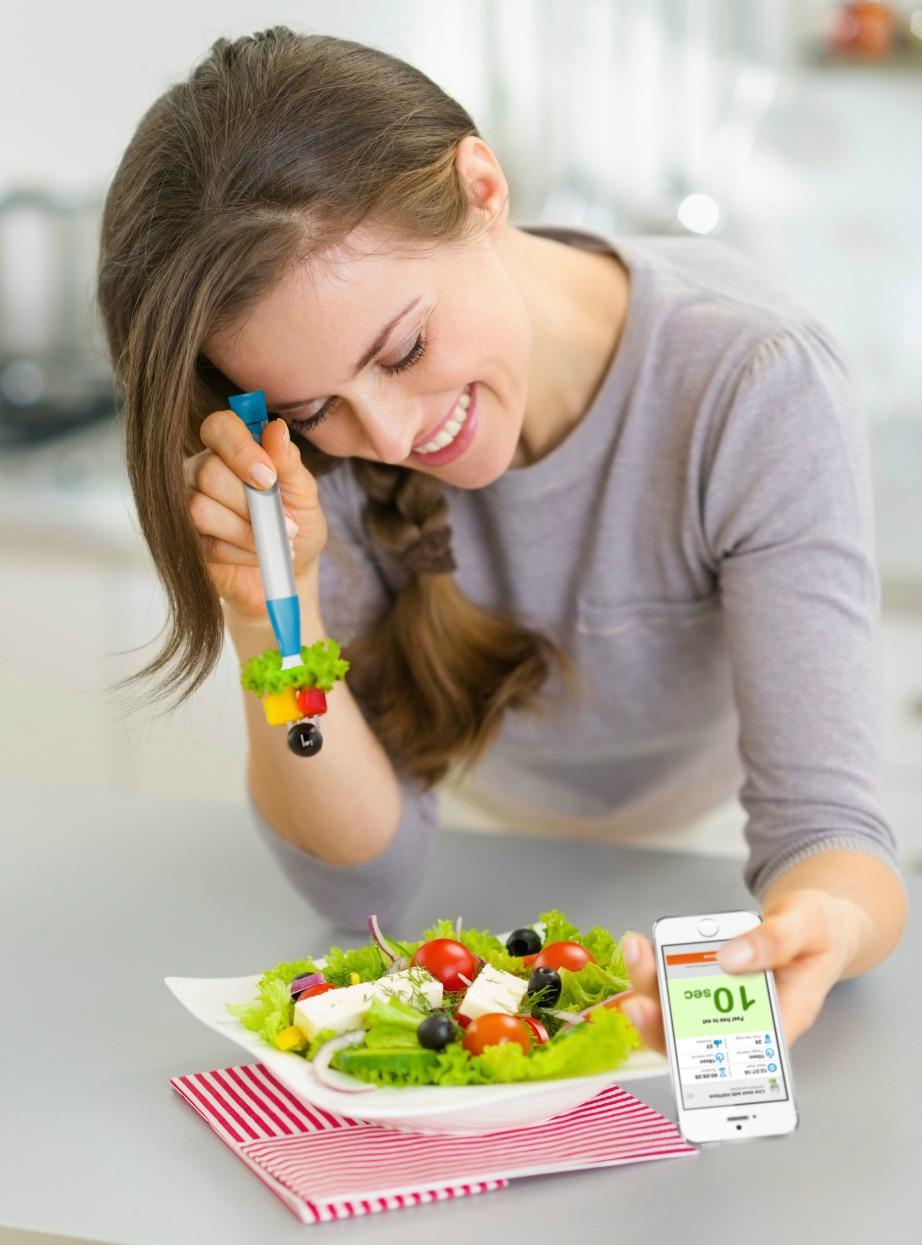 Με το HAPIfork θα τρώτε πιο σωστά και πιο αργά.