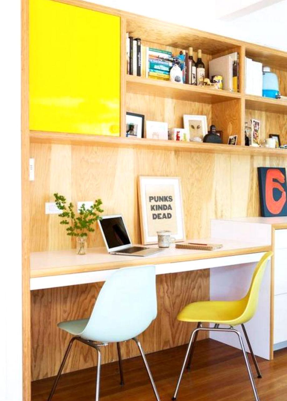 Φτιάξτε ένα γραφειό από το πάτωμα ως την κορυφή του σπιτιού σας.