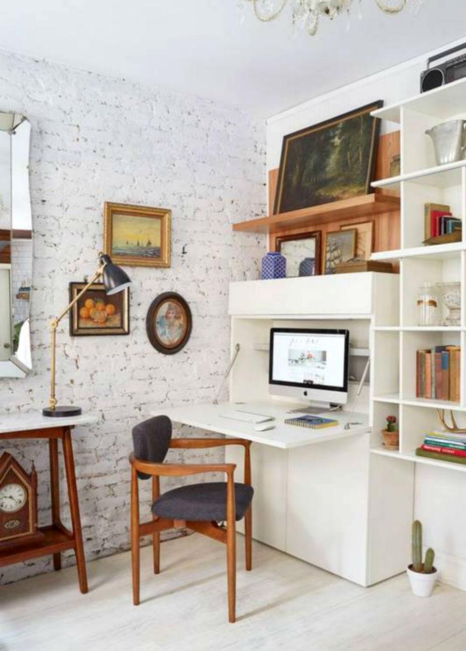 Βιβλιοθήκη, γραφείο ή σύνθετο; 3-σε-1!