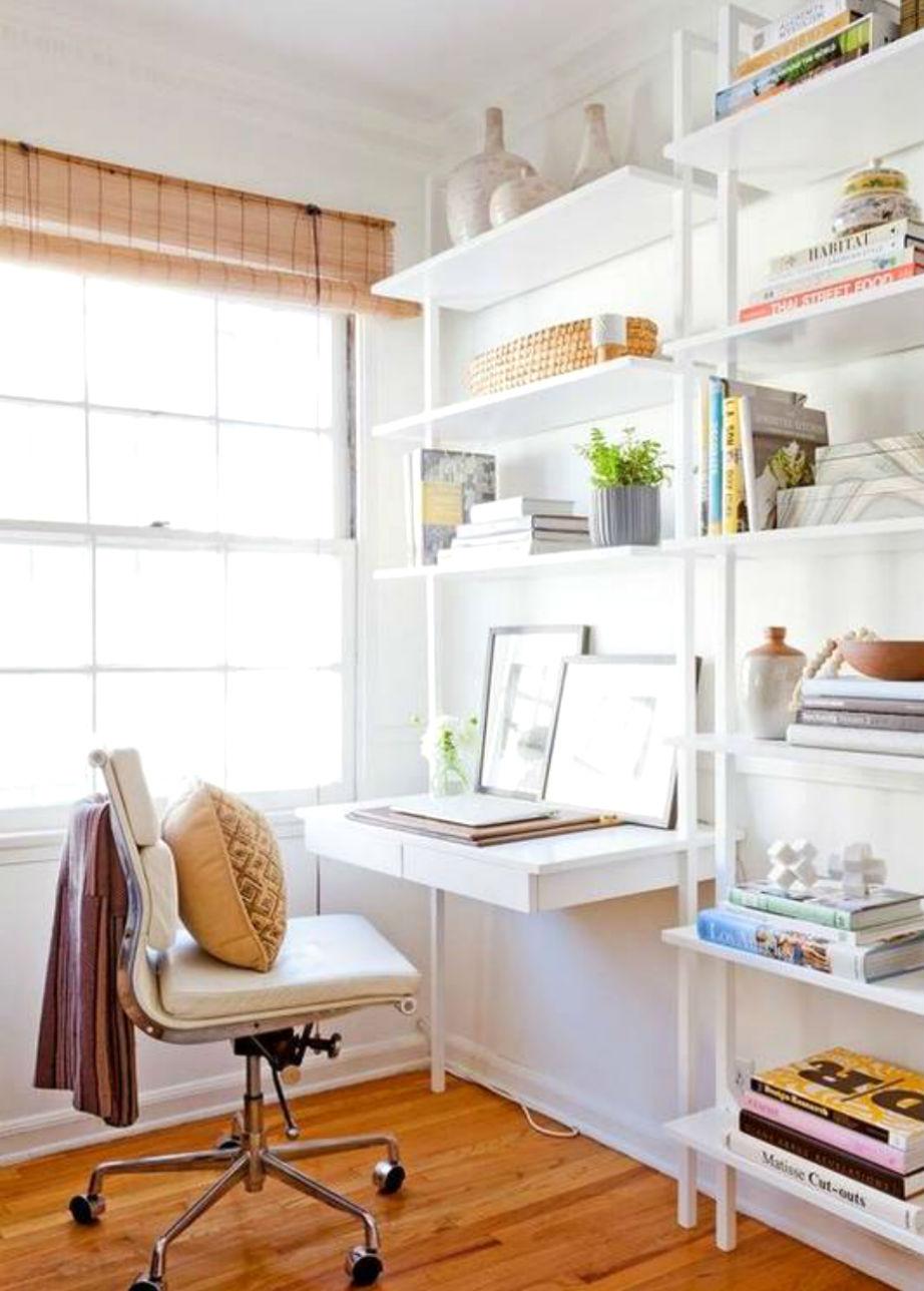 Μια μικρή αλλαγή στη βιβλιοθήκη σας και έχετε νέο γραφείο.