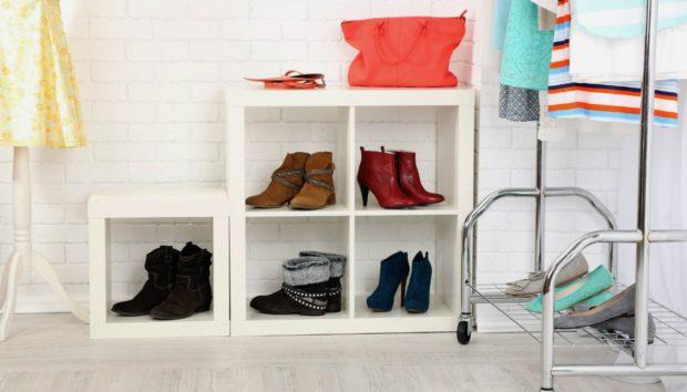 Οργανώστε τα Παπούτσια σας Μέσα στο Σπίτι με τους πιο Απλούς Τρόπους !