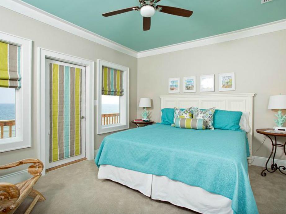 Αν δεν ξέρετε τι χρώμα να επιλέξετε για το ταβάνι σας, τότε παρατηρήστε τη διακόσμηση του δωματίου για να δείτε ποια απόχρωση ταιριάζει αλλά και ποιο χρώμα σας αρέσει καλύτερα.