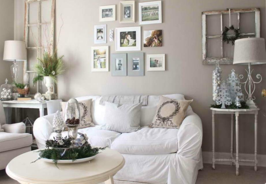 Βάλτε πολλά καδράκια σε διάφορα μεγέθη για να γεμίσετε τον τοίχο με αναμνήσεις και όμορφες στιγμές της ζωής σας.