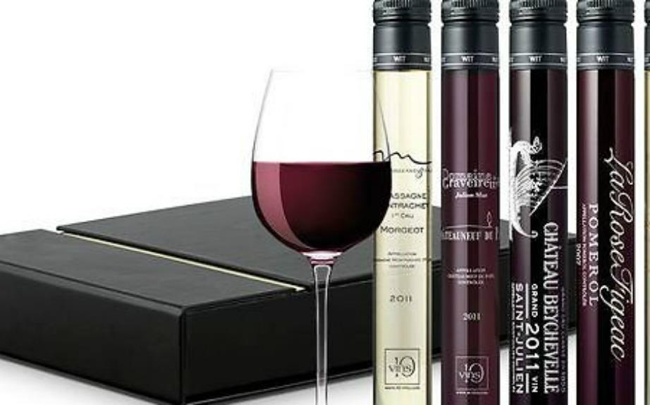 Κάθε μπουκαλάκι κρασιού που μπαίνει μέσα στη συσκευή κοστίζει περίπου 2 ευρώ και περιέχει 100 ml.