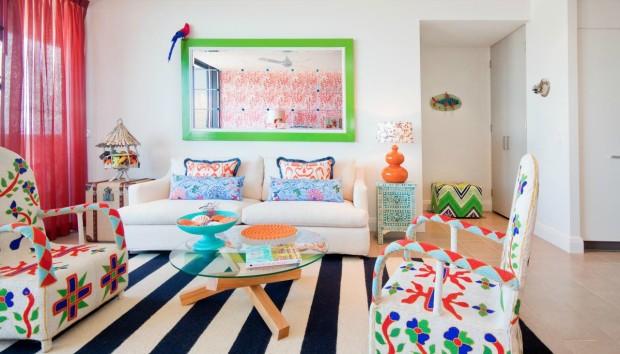 Διακόσμηση με Πολύχρωμα Έπιπλα που θα Δώσουν Χρώμα και Ζωντάνια στο Χώρο σας
