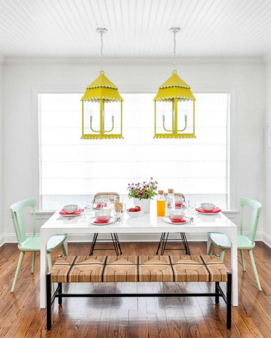 Το κίτρινο παίρνει το πράσινο φως και για τα φωτιστικά του σπιτιού σας.