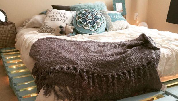 DIY: Φτιάξτε Κρεβάτι Μόνοι σας Εύκολα και Οικονομικά (VIDEO)