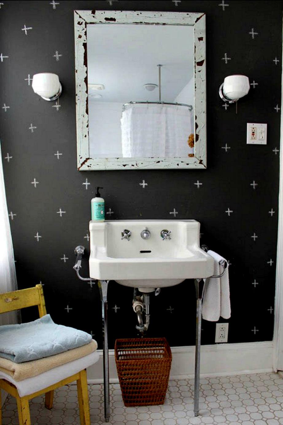 Μαυροπίνακας και στο μπάνιο!
