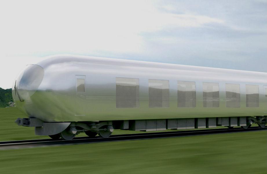 Κανείς δε θα μπορεί να δει το τρένο όταν αυτό αναπτύσσει ταχύτητα!