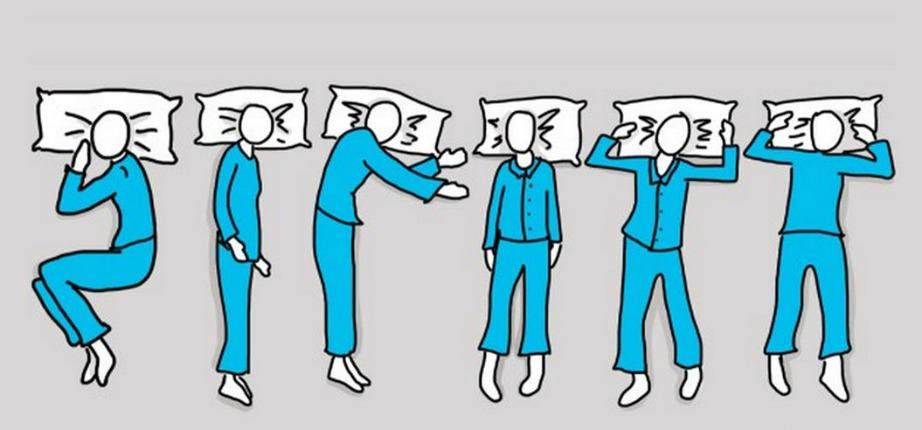 Κάθε στάση ύπνου έχει τη δική της ερμηνεία.
