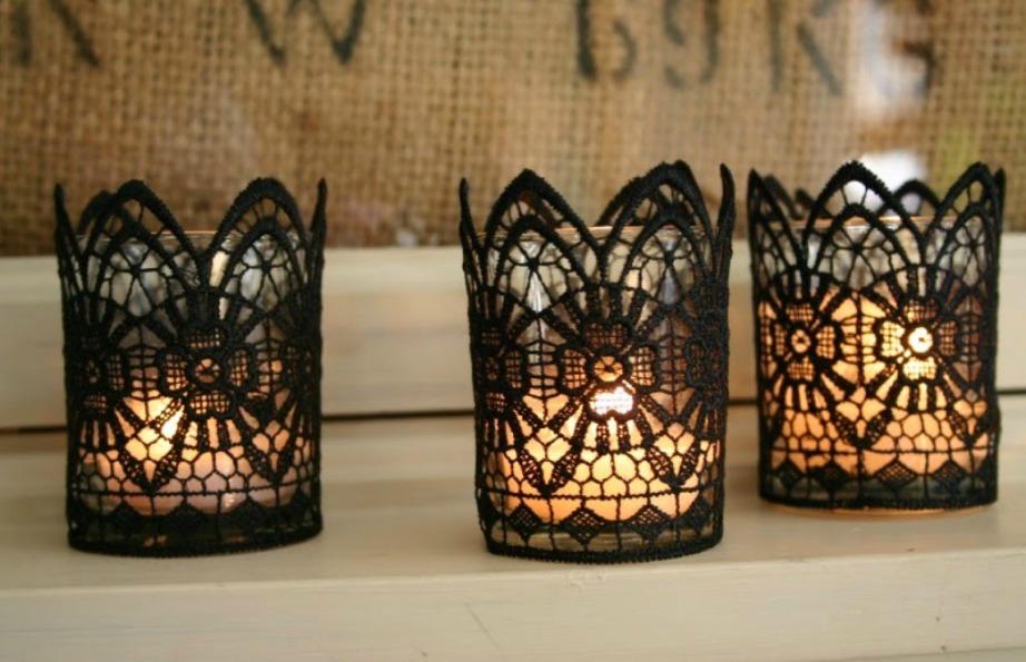 Δείτε πόσο όμορφα είναι αυτά τα κεριά.