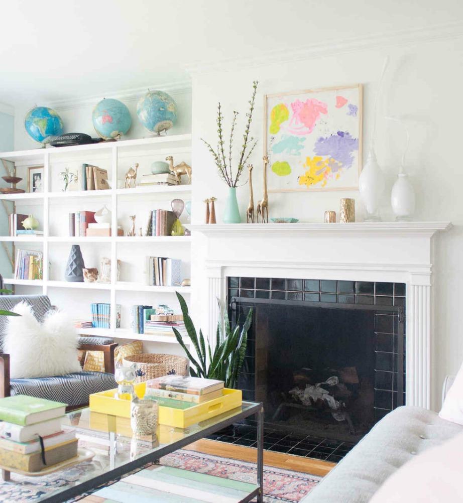Διακοσμήστε το έργο τέχνης του παιδιού σας σε εμφανές σημείο του σαλονιού ή στο δωμάτιό του για να προσθέσετε περισσότερο στιλ και χρώμα στον χώρο.