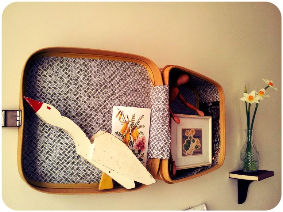Το τέλειο ράφι από δερμάτινη βαλίτσα θα κλέψει σίγουρα όλα τα βλέμματα.