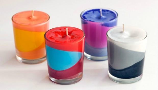 Φτιάξτε Καλοκαιρινά Κεριά Μόνοι σας με Μηδέν Ευρώ