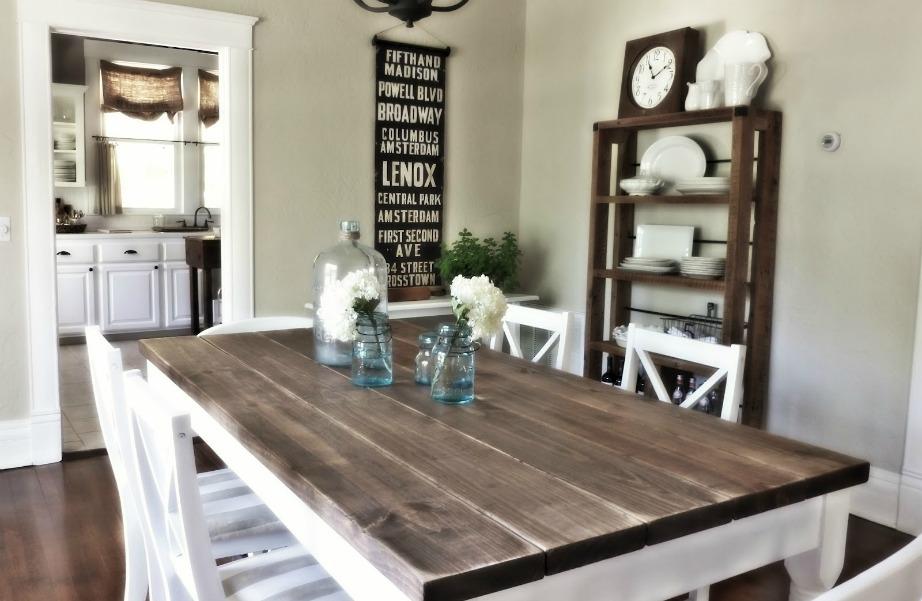 Ανανεώστε εύκολα το παλιό τραπέζι της τραπεζαρίας ή της κουζίνας σας.
