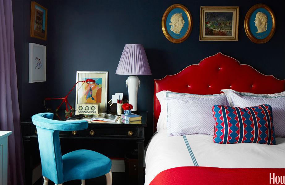 Τολμήστε ένα έντονο χρώμα στο πρώτο σπίτι σας.