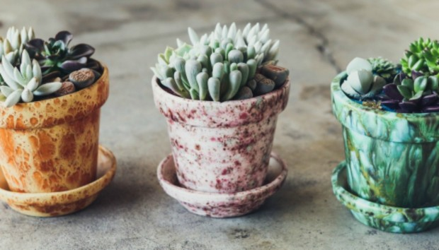 HOME DIY: Ένας Πολύ Απλός Τρόπος για να Κάνετε τις Γλάστρες σας να Δείχνουν Vintage!