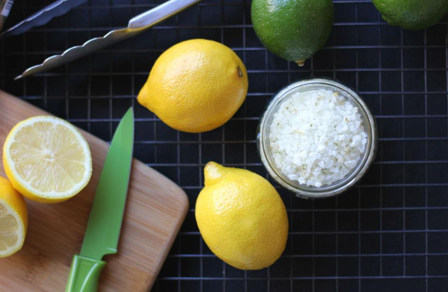 Αλάτι και λεμόνι, ένας αχτύπητος συνδυασμός.