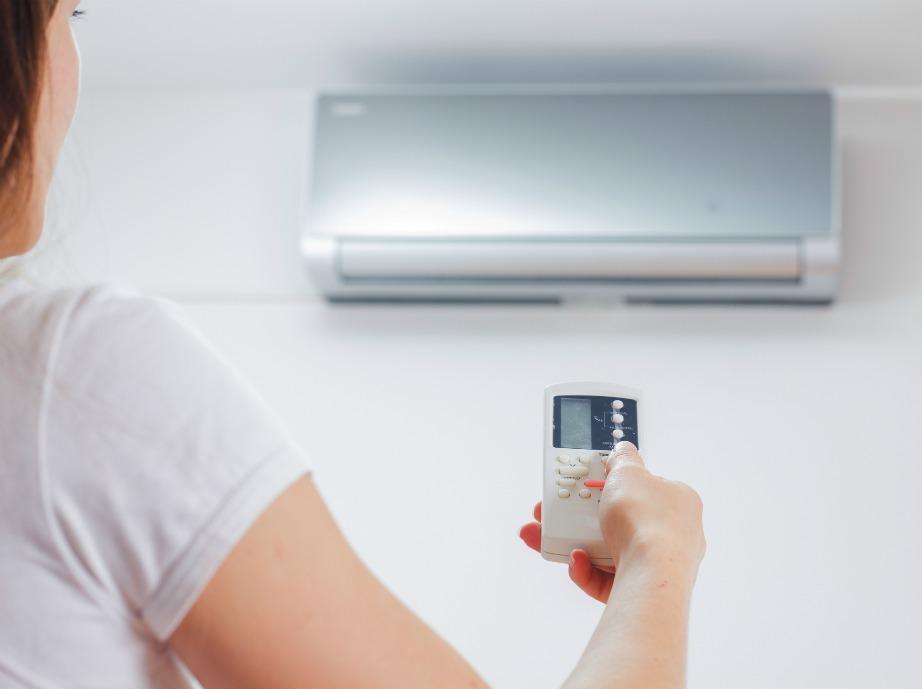Ρυθμίστε το κλιματιστικό σας στους 23-26 βαθμούς Κελσίου.
